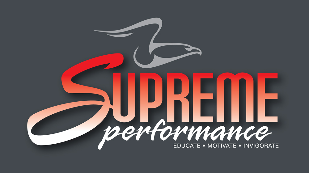 Redspot print design - Supreme Performance