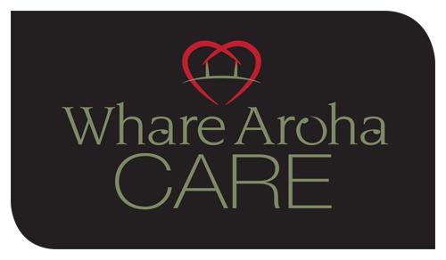 Redspot print design - Whare Aroha Care