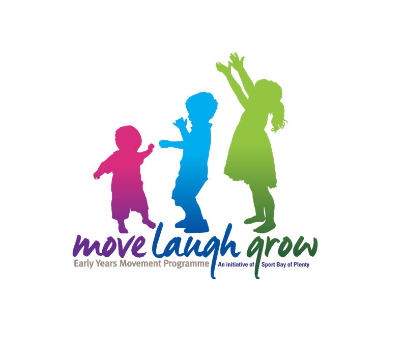 Redspot print design - Move Laugh Grow