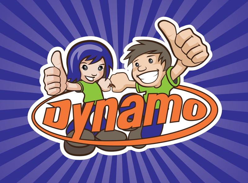 Redspot print design - Dynamo