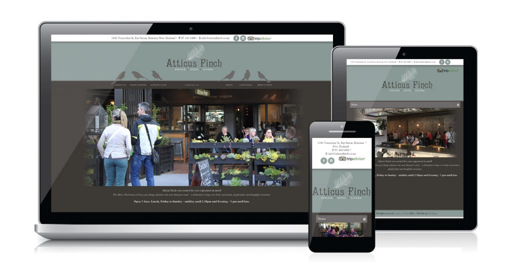 Redspot web design - Atticus Finch