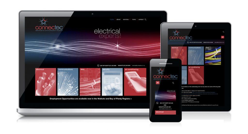 Redspot web design - Connectec