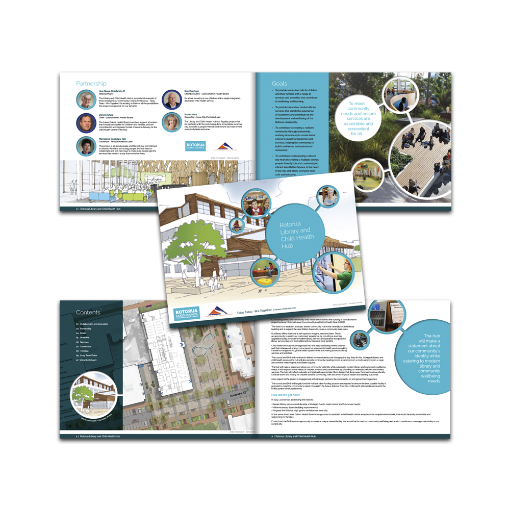 Redspot print design - Rotorua Lakes Council