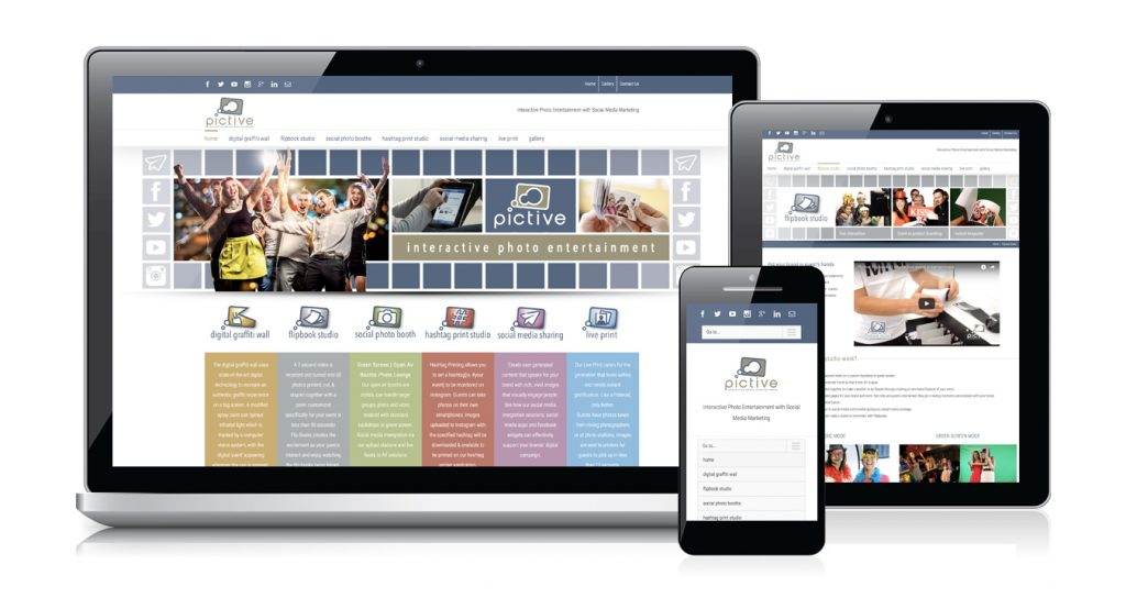 Redspot web design - Pictive