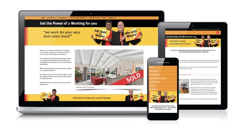 Redspot web design - Power of 2