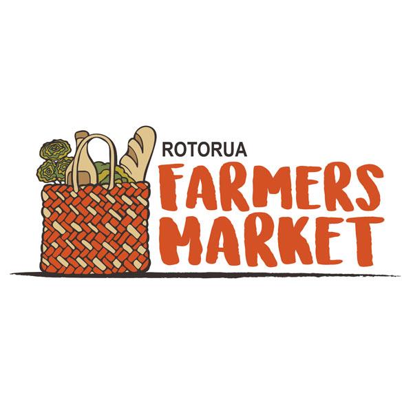 Redspot print design - Rotorua Farmers Market