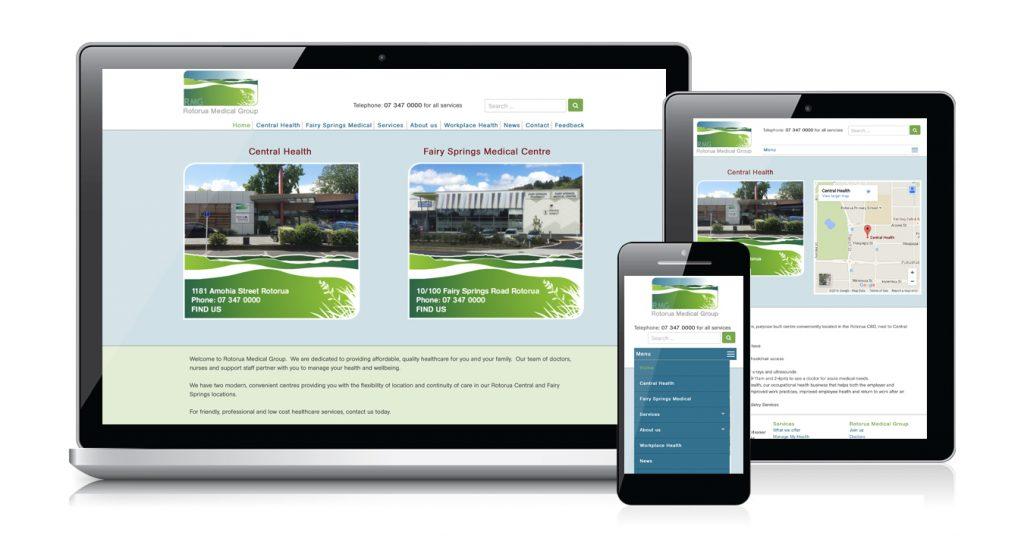 Redspot web design - Rotorua Medical Group