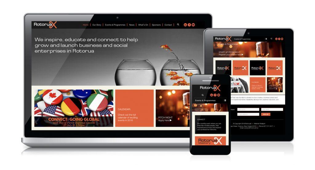 Redspot web design - RotoruaX