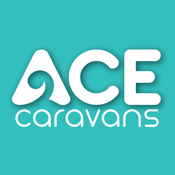 Redspot print design - ACE Caravans