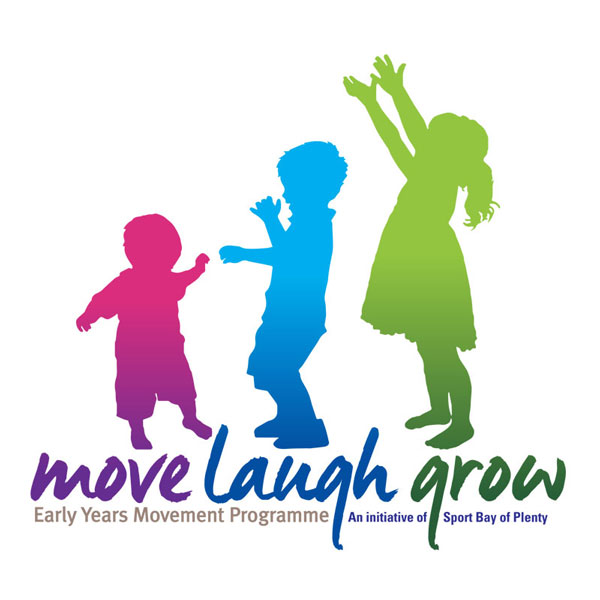 Redspot print design - Move Laugh Grow