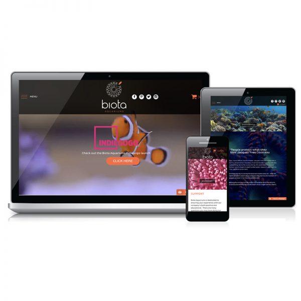 Redspot web design - Biota