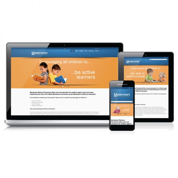 Redspot web design - Montessori